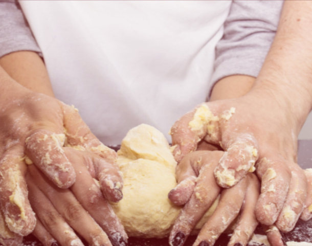 impastare la farina