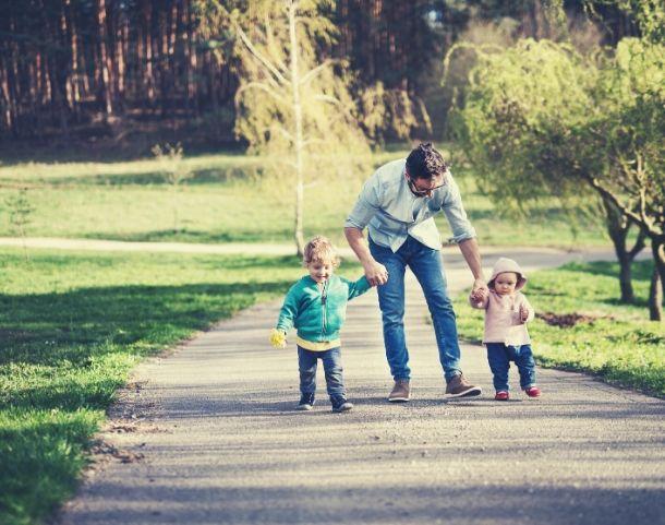 padre con figli diritto di visita